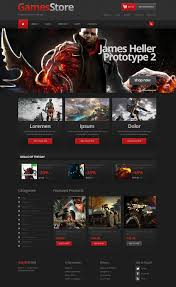 Home Design Game Rules Website Design 44259 Game Store Console Custom Website Design