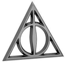 logo mercedes benz 3d harry potter deathly hallows premium 3d black chrome logo emblem