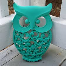 owl decor best turquoise owl decor products on wanelo