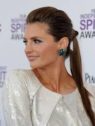 stana katic ponytail stana katic long hairstyles looks stylebistro