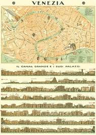 Map Italy Silhouettes Italian Cities by Vintage Map Venice Italy 1764 Vintage Maps Venice Italy And