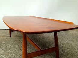 conant ball coffee table sparklebarn mid century maple surfboard coffee table by conant ball