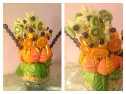 how to make fruit arrangements diy how to make a christmas table fruit bouquet