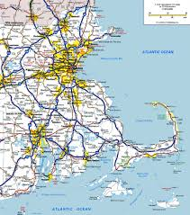 Map Of Eastern Canada by Massachusetts State Maps Usa Maps Of Massachusetts Ma