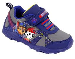 light up sneakers paw patrol light up sneakers boys shoes size 10 navy ebay