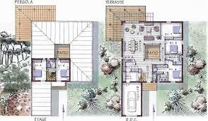plan de maison 5 chambres maison ossature bois à étage 177 m 5 chambres