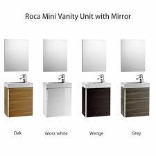 Roca Bathroom Furniture Roca Mini Vanity Unit With Mirror Uk Bathrooms I Believe This Is
