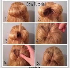 hair bow with hair gaga bow hair tutorial for hair foto