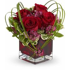 teleflora u0027s sweet thoughts bouquet with red roses in aurora mo