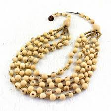 natural bead necklace images Natural acai necklace jpg