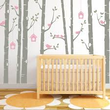 birch tree decal birds wall sticker set baby nursery wall decals il fullxfull 1026636653 igb4 1