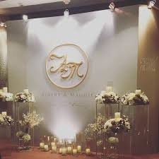 wedding backdrop initials 69 best wedding decor stage backdrop booth idea concept
