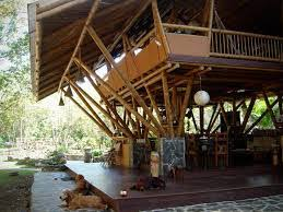 Native House Design Bamboo House Playa Sombrero House Architecture Modern And House