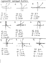 collection of solutions precalculus worksheets with answers in