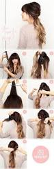 how to put bridal hairstyle best 25 easy ponytail hairstyles ideas on pinterest hair styles