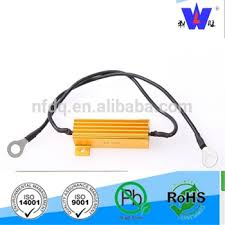 load resistors for led lights 50w 8 ohm led load resistor with wire t tap for auto led lighting