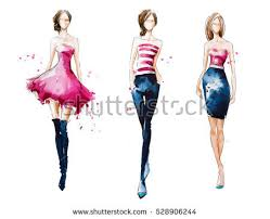 fashion sketch stock images royalty free images u0026 vectors
