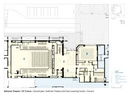 national theatre floor plan gallery of national theatre haworth tompkins 26 national theatre