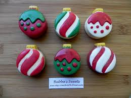 ornament chocolate covered oreos i came in like a