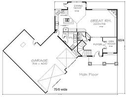 large great room with picture window 8596ms architectural - Great Room House Plans