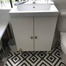 how to diy ikea hack bathroom sink cupboard boo u0026 maddie