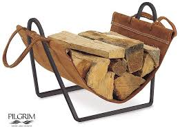 pilgrim home and hearth wood holders fireplaces plus