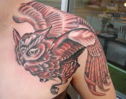 Owl Shoulder - owl designs ways to appealing owl designs