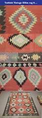 turkish vintage kilim rug 9 8x5 9 feet area rug home decor floor