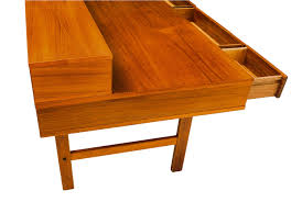 Danish Modern Teak Desk by