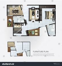 interior layout layout interior plan furniture stock vector 641663314 shutterstock
