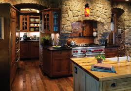 tremendeous rustic kitchen with rich accents denver by design