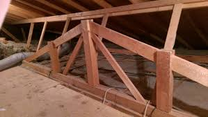 Roof Framing Pictures by Framing False Roof Frame In Ceiling Home Improvement Stack