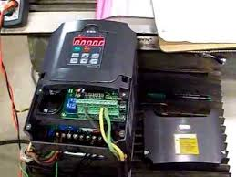 huanyang 4 0 kw inverter vfd how to setup and wire single phase