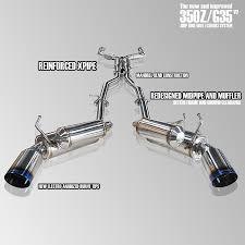 Nissan 350z Nismo Exhaust - ark sema sale 350z v2 grip true dual exhaust system my350z com