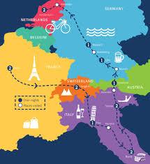 Europe World Map by Tour Of Europe Oktoberfest In Munich C The World