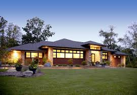 prairie style ranch homes prairie style home contemporary exterior detroit by