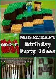 minecraft birthday party ideas minecraft birthday party ideas luck