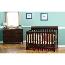 delta convertible crib toddler rail delta children eclipse 4 in 1 espresso convertible crib
