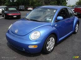 volkswagen bug blue 1999 bright blue metallic volkswagen new beetle gls coupe