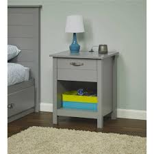 nightstand l with usb port mainstays kyle night stand with usb port multiple colors walmart com
