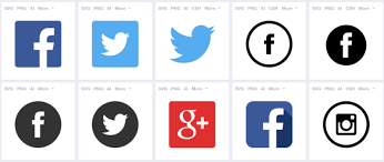 free finder websites 54 beautiful free social media icon sets for your website