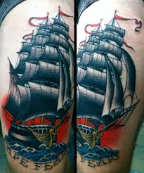 amazing ship tattoo best tattoo design ideas