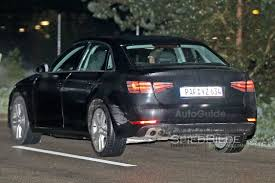 audi a4 2016 2016 audi a4 spied night testing with little camo