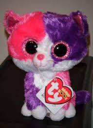 ty beanie boos type cat fiona birthday introduced
