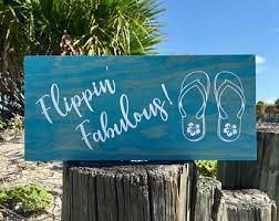 beachy signs beachy decor etsy