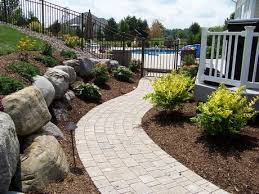 Landscape Syracuse Ny by Aspinall U0027s Landscaping Custom Natural Stone And Paver Walkways