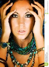native american fashion model royalty free stock photos image