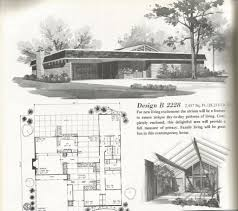 small retro house plans mid century modern house plansge 1960s with plans vintage home