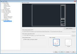 how to customize title blocks and add a logo in autocad plant 3d