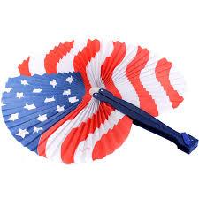 folding fan american flag folding fan